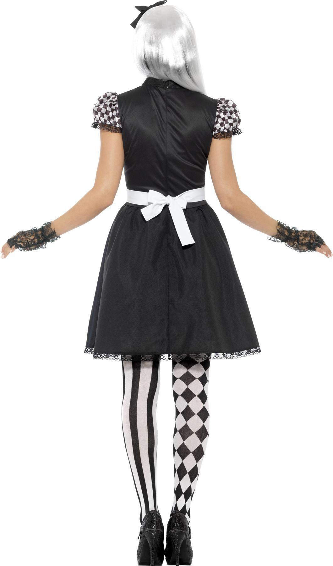 DARK-Alice-Paese-delle-Meraviglie-Linea-Donna-Costume-Donna-Halloween-Horror-adulto