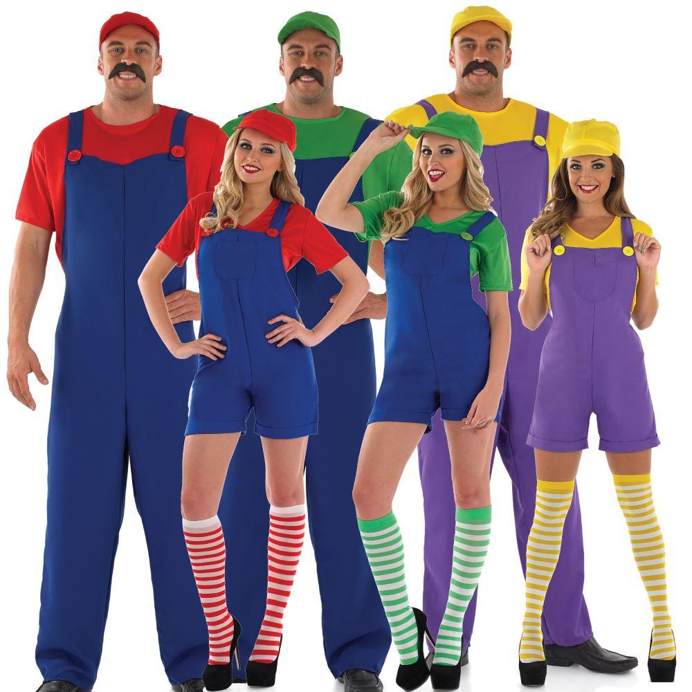 Sexy mario and luigi costumes