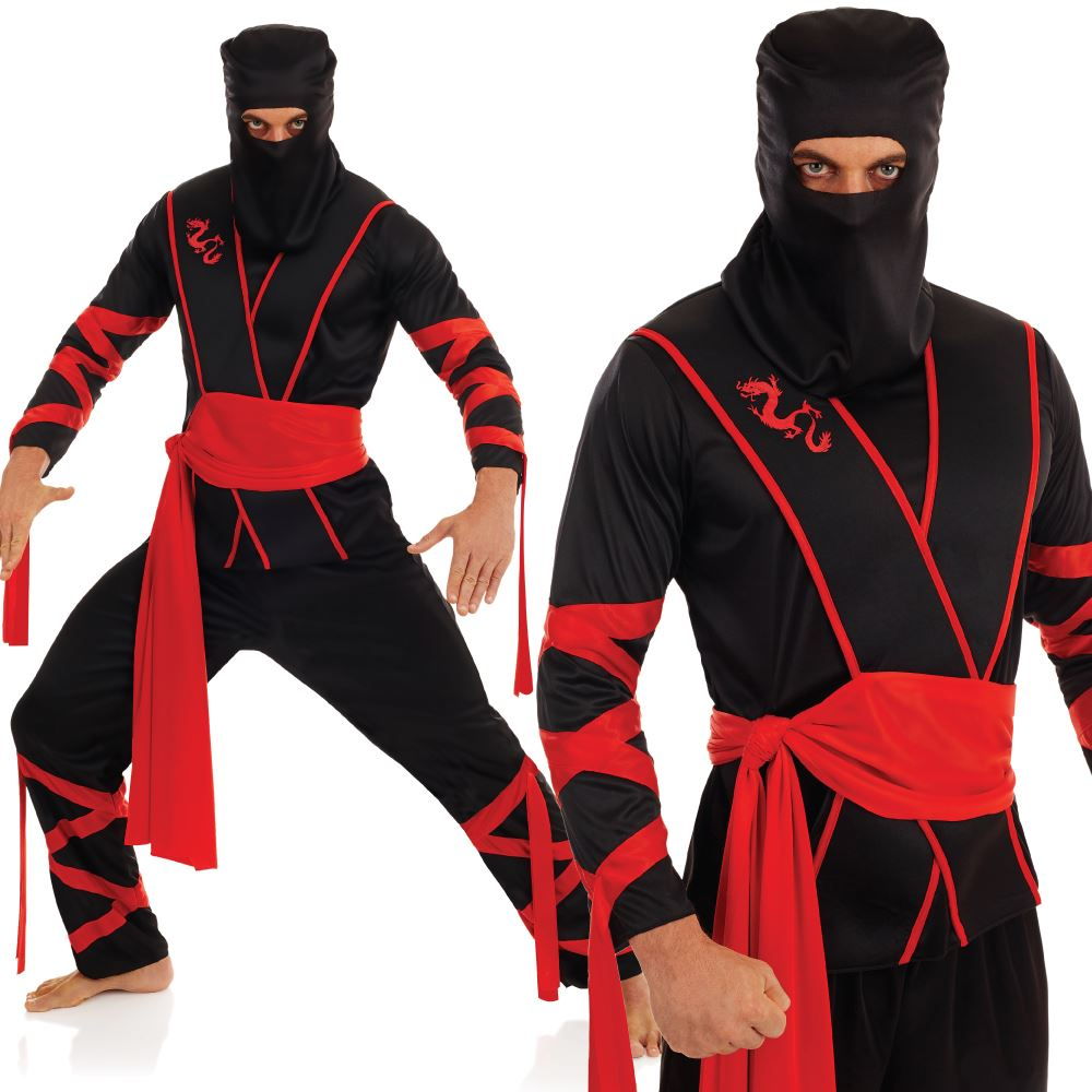 Adult-Japanese-Themed-Costume-Geisha-Samurai-Ninja-Fancy-  sc 1 st  eBay & Adult Japanese Themed Costume Geisha Samurai Ninja Fancy Dress | eBay