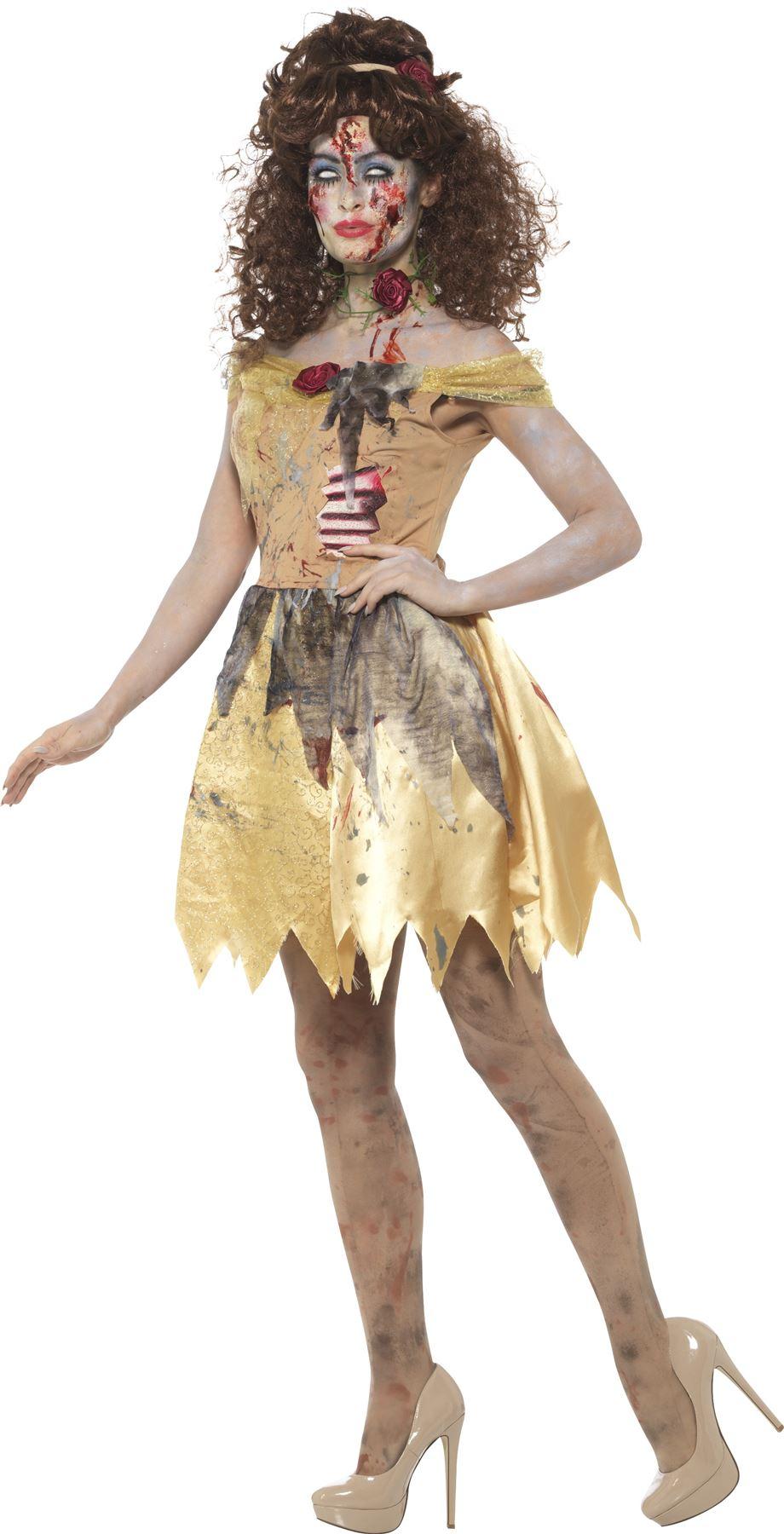 zombie princess tinkerbell belle frozen fancy dress dark
