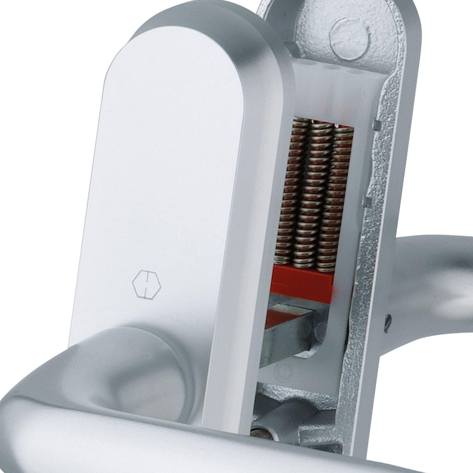 Hoppe Atlanta Pair Handle Pas 24 92pz 92mm High Security