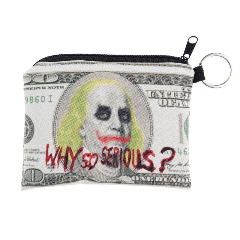 Lol-Emoji-Animal-Galaxy-Monkey-Skull-Print-Square-Coin-Purse-Wallet-Wholesale