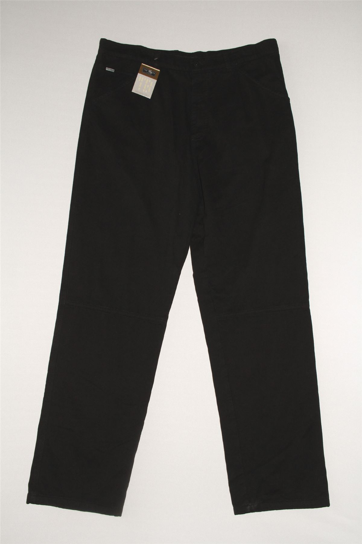 cd75a1420932 NEW WOMEN S TED BAKER CARGO BLACK TROUSERS JEANS CUFF LEG ALL SIZES RRP £70