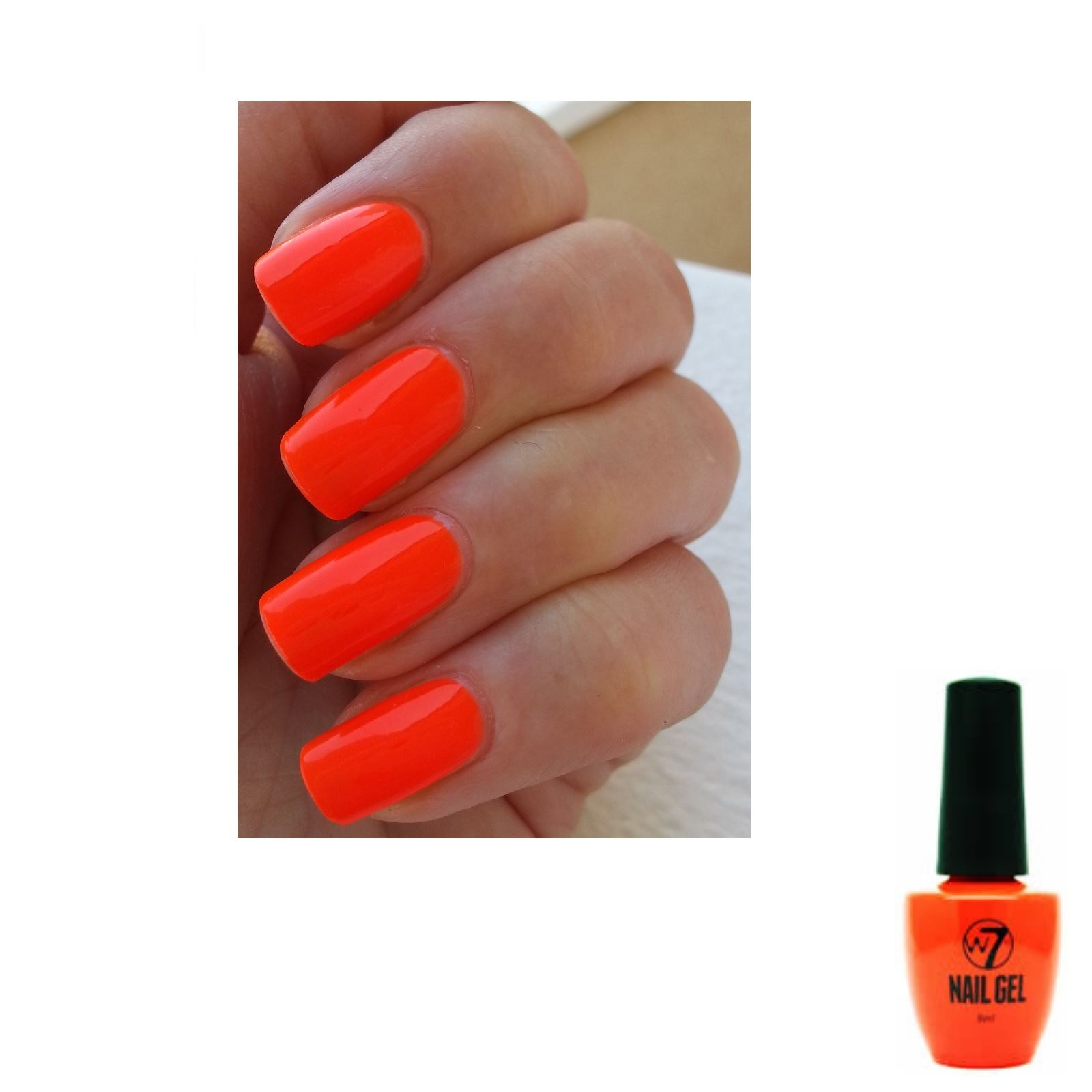 W7 Nail Gel - UV Long Lasting Nail Polish Manicure Nails | eBay