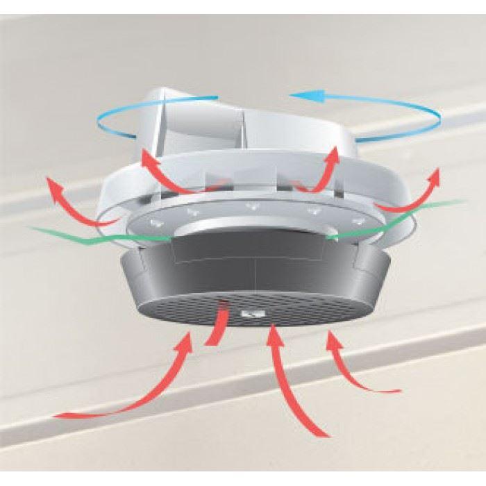 Flettner 2000 Roof Vent Van Wind Driven Rotating Roof Vent