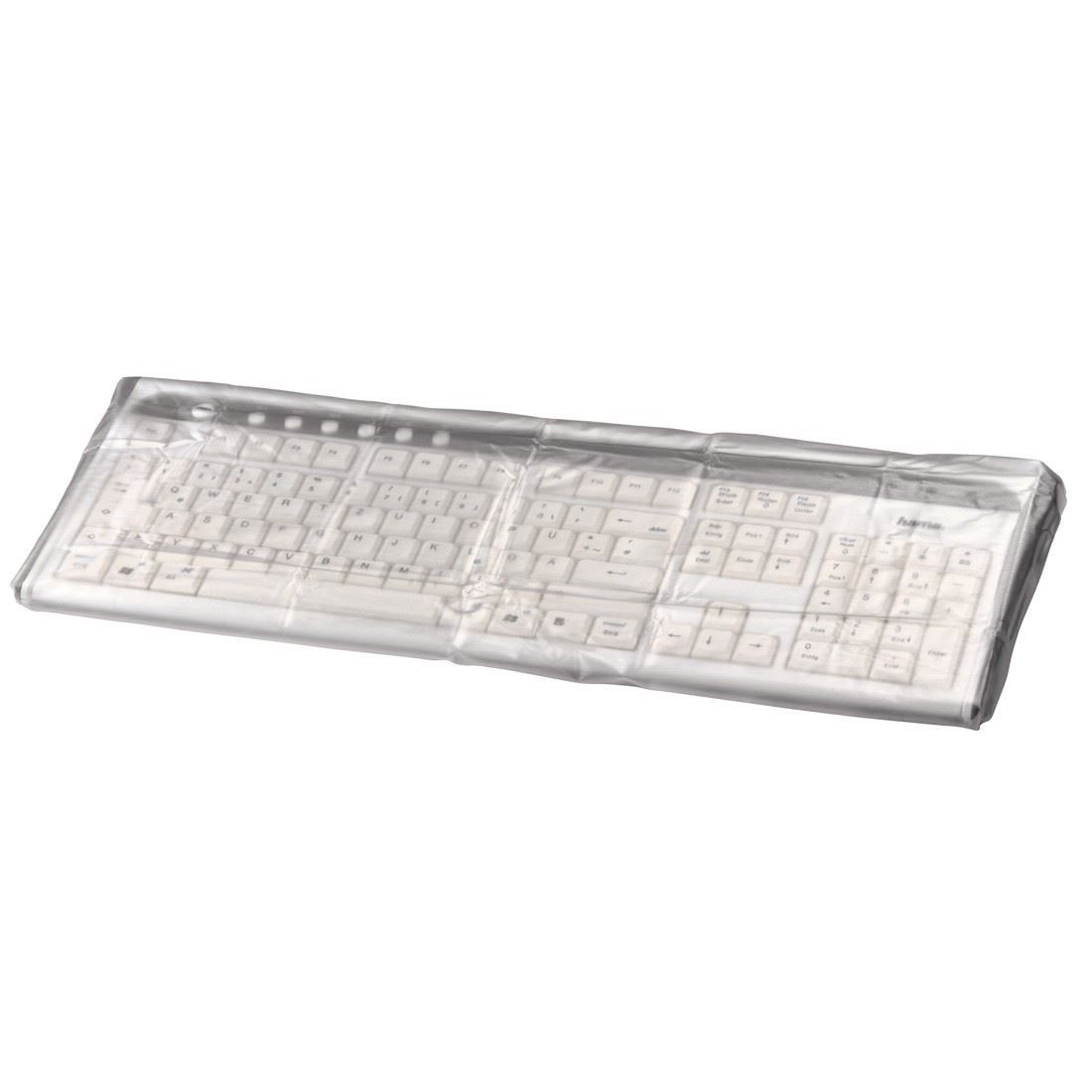 Hama Transparent Computer Keyboard Dust Cover Water