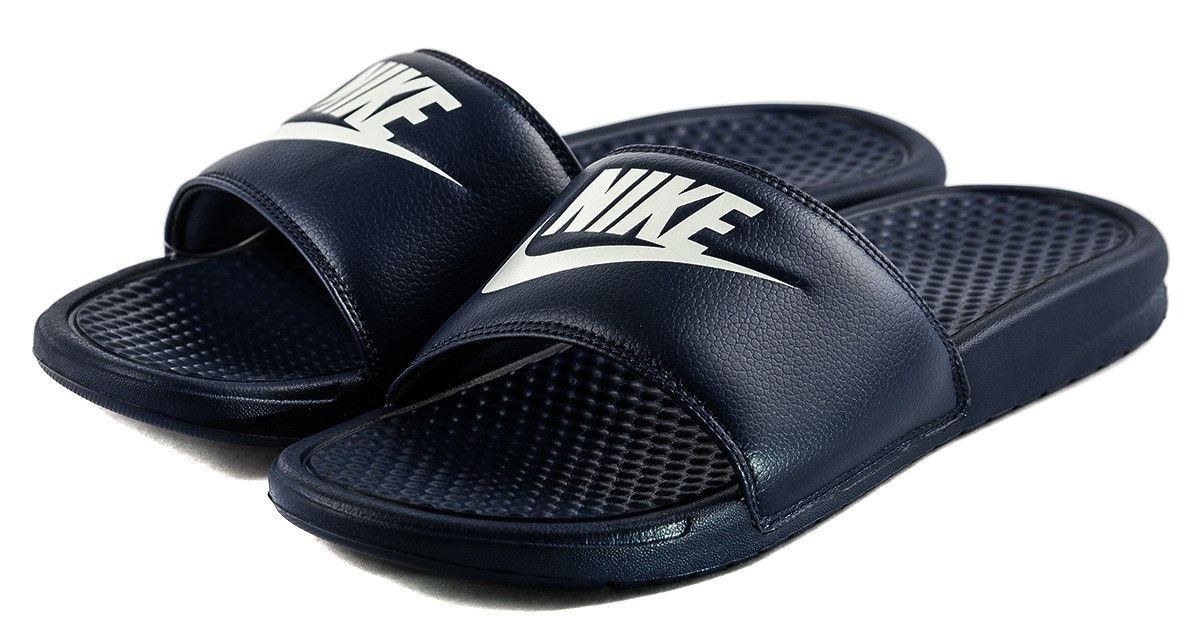 half off 83d27 c4c31 Nike Benassi JDI Slides Midnight Navy UK 9 EUR 44 Em20 79. About this  product. Picture 1 of 2  Picture 2 of 2