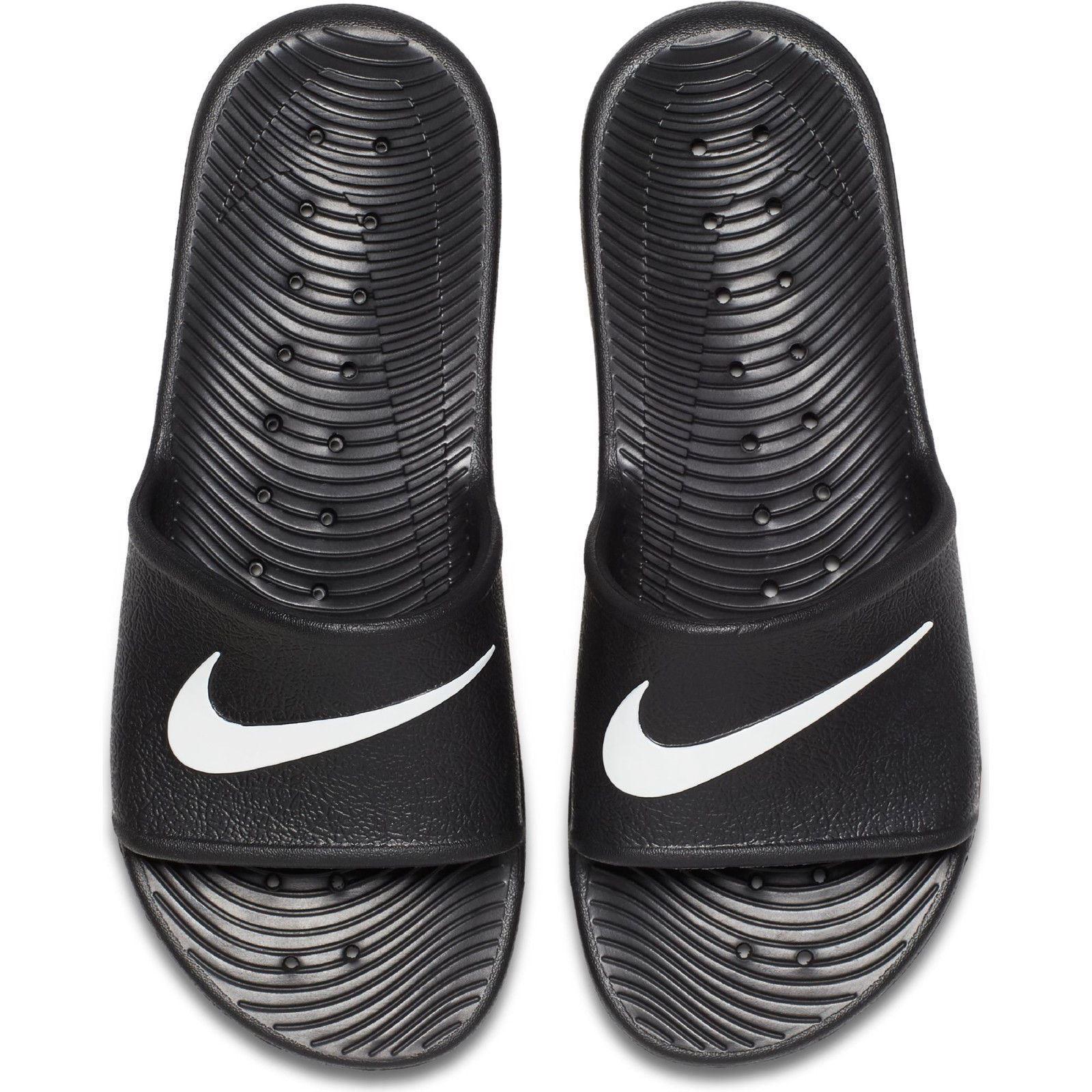 bf80589264f9 Nike Kawa Swoosh Mens Sliders UK 9 US 10 EUR 44 BR 42 Cm 28 for sale ...