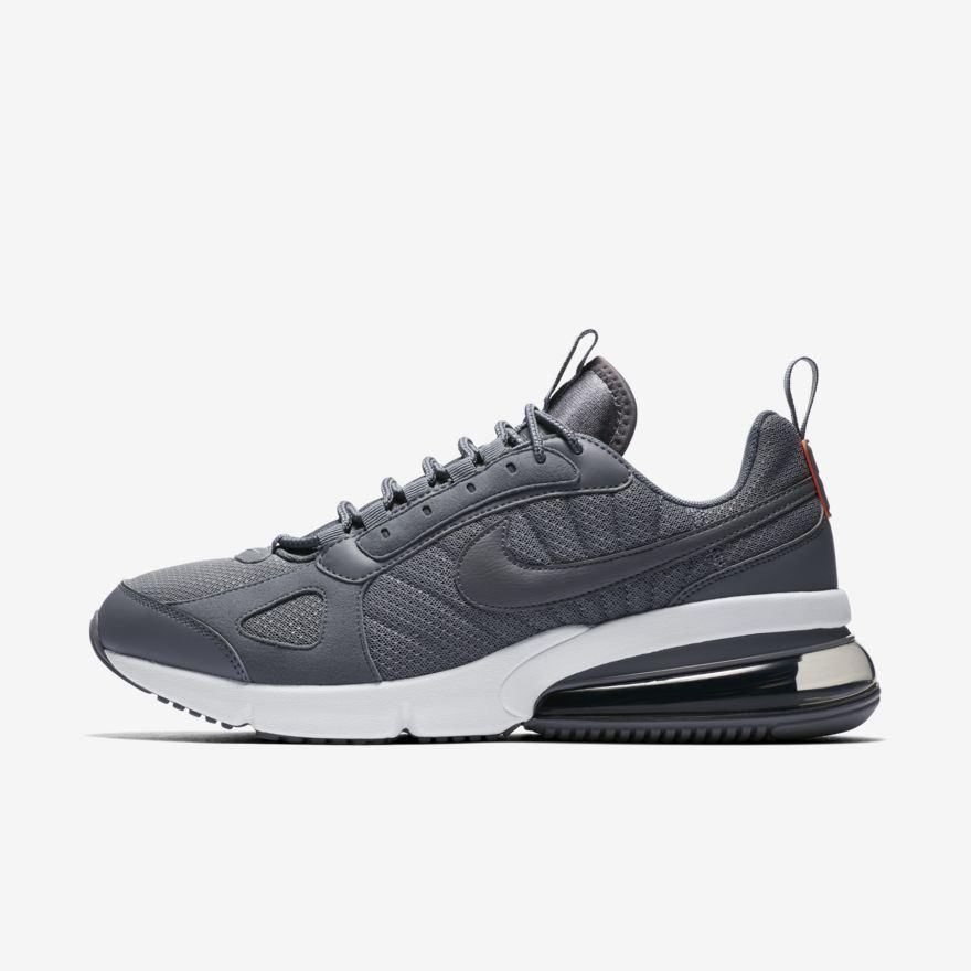 Detalles de Nike Hombre Nike Air Max 270 Futura Zapatillas Gris (AO1569 004)