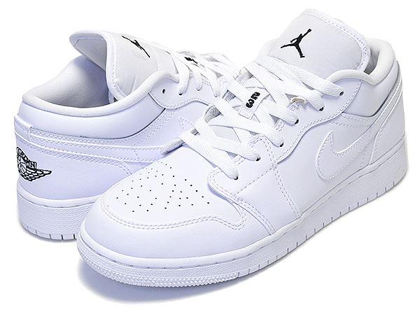 Nike Junior Air Jordan 1 Low BG Plain