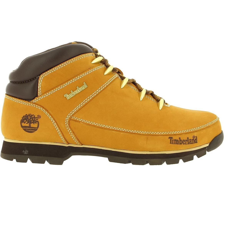 7edeb2dd7e1676 Timberland Mens Euro Sprint Hiker Wheat Boots Yellow (A1221)   eBay