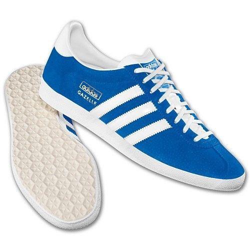 Details zu Adidas Herren Gazelle Og Turnschuhe Freizeit Retro Sneakers Classic Schuhe Blau
