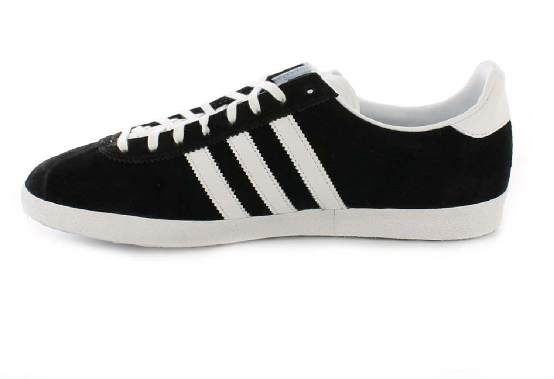 Détails sur Adidas Homme Gazelle Og Lacet Décontracté Baskets Classique Rétro Baskets Noir