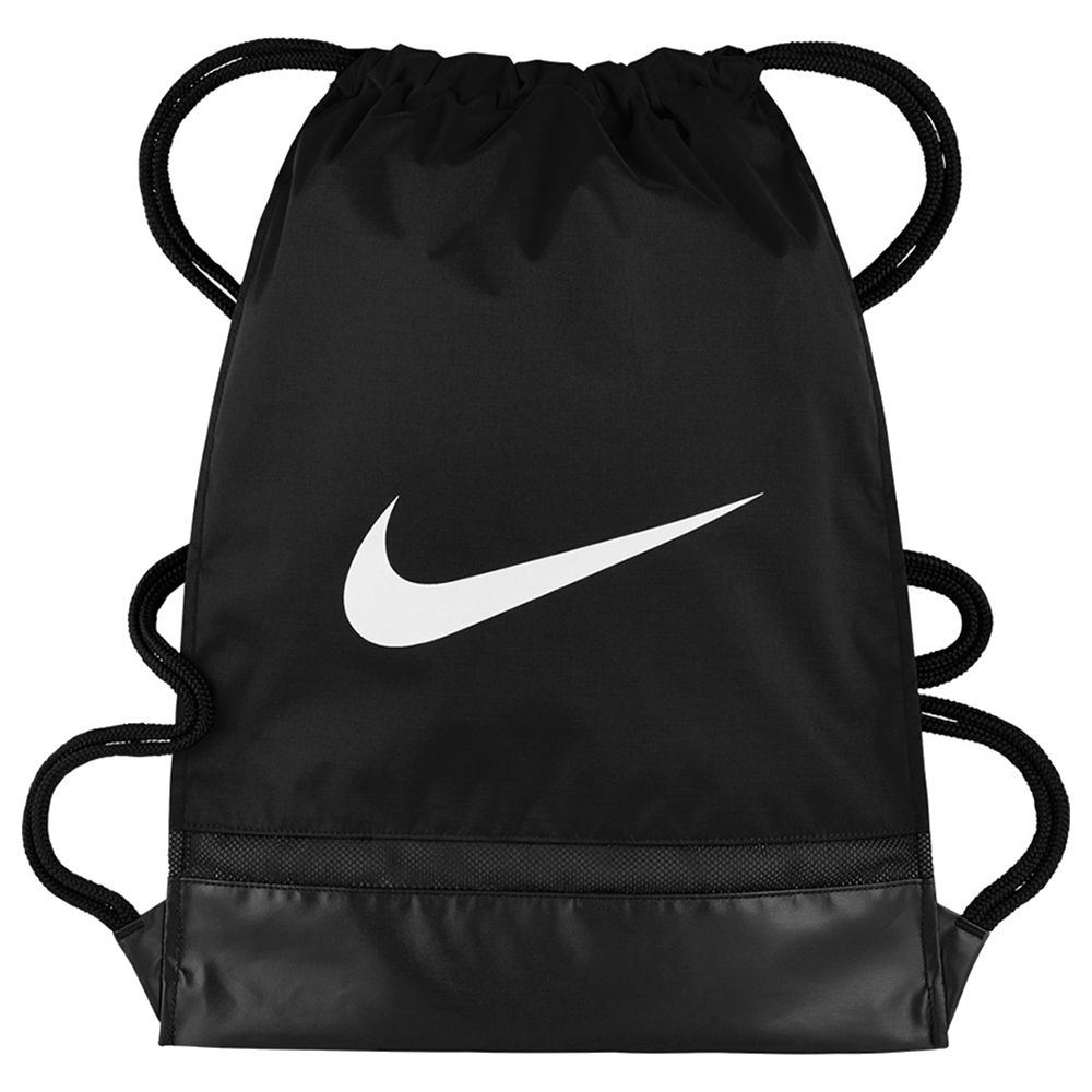 2ddf3833c3 Image is loading NIKE-Mens-Brasilia-Training-Gymsack-Drawstring-Bag-Black-