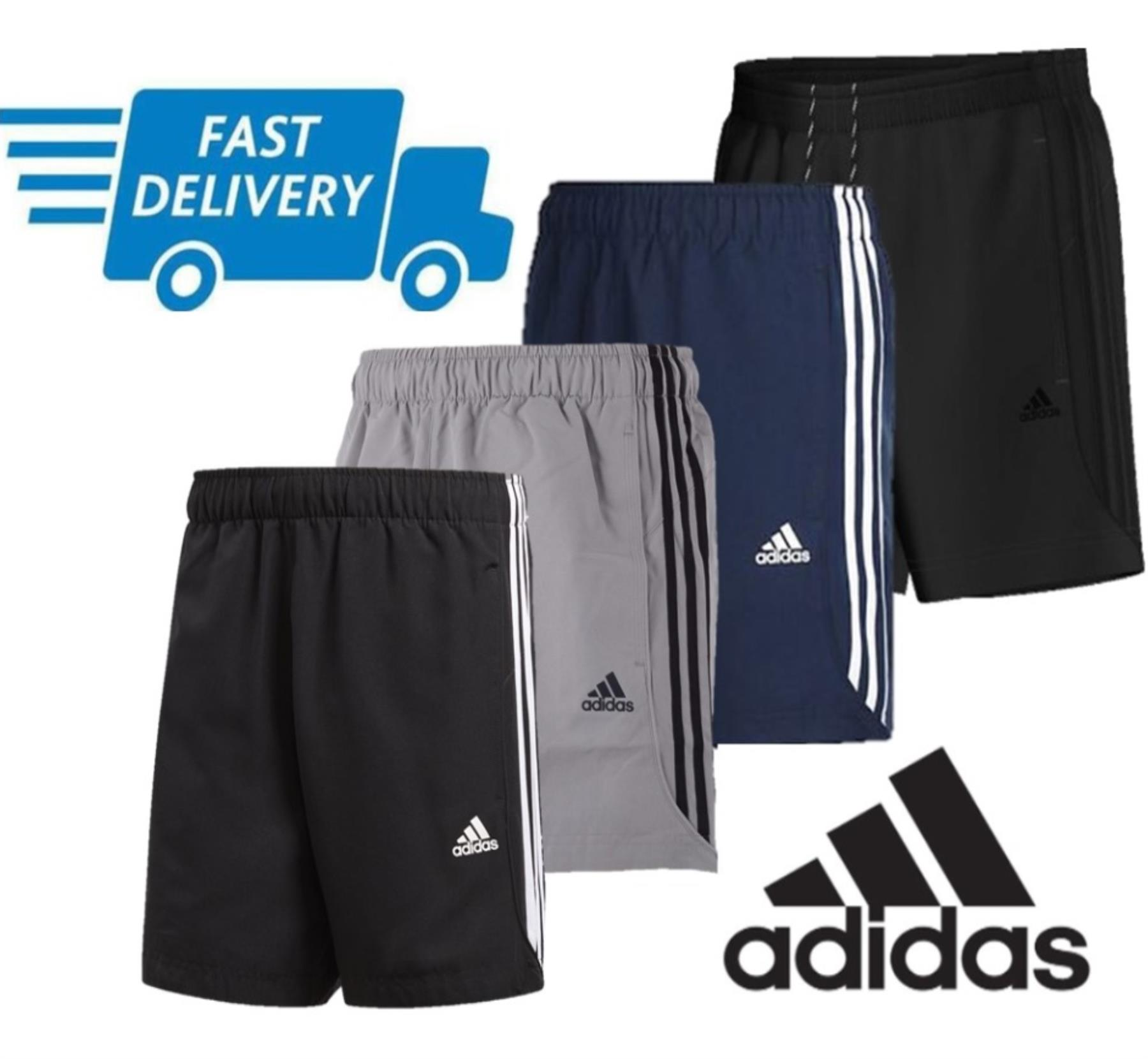 Détails sur Adidas Essentials Neuf Chelsea Short SPORTS Gym Course Short
