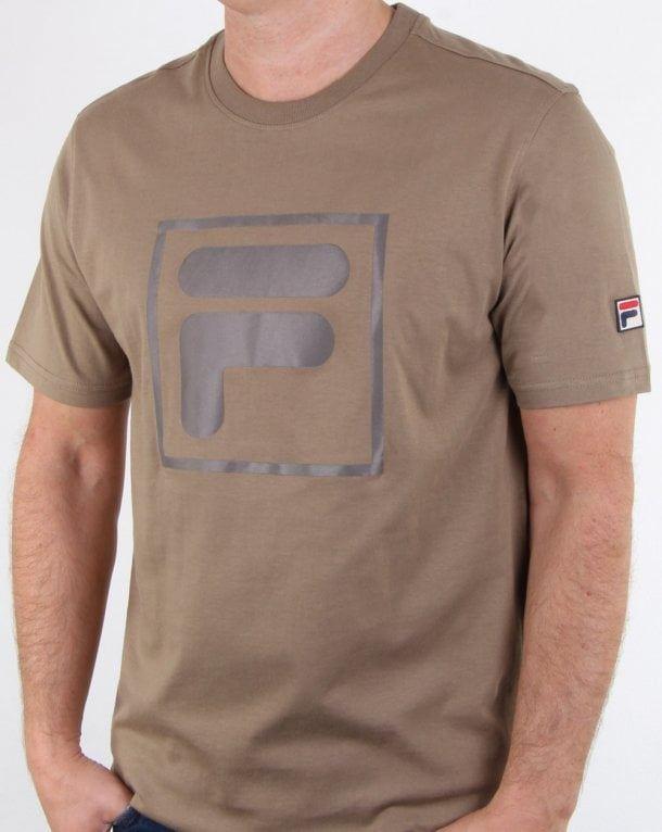 Details about Fila Mens T-Shirt Green (LM1832AH-319-FW18)