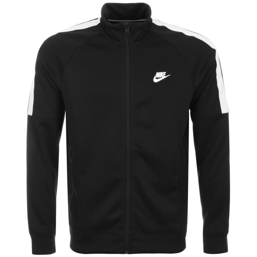 6bfe2cc8b Details about NIKE Mens Nike Tribute Full Zip Track Top Jacket Black  (678626-010)
