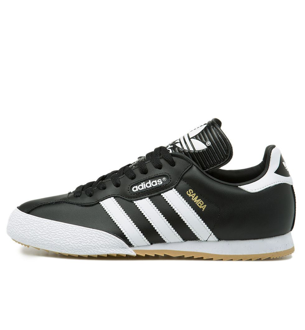 Adidas Herren Trainer Weiß Super Schwarz Originals 019099 Samba wqFHAxvw
