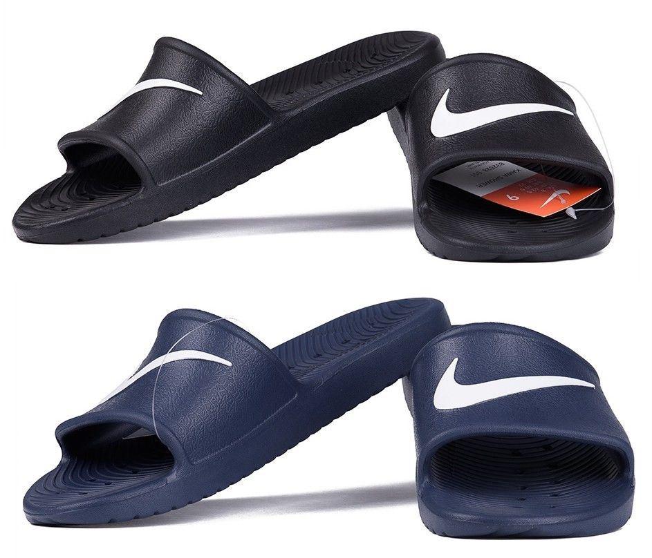 6da627088cf9 Detalles de Nike Hombre Verano Kawa para Ducha Chanclas Vacaciones  Deslizables
