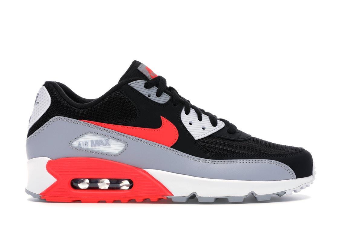 AJ1285 012 NIKE Mens Nike Air Max 90 Essential Men Shoes Trainer Grey