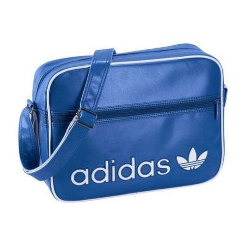df2b55589e3a Adidas Unisex Adidas School Side Bags Shoulder Bag Blue (X52207)