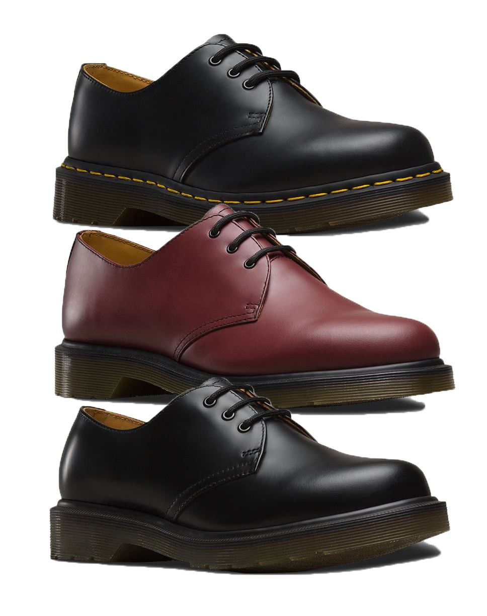 online for sale uk store new products Details about Dr Martens Boots Mens Smooth Winter Casual Low Boots Black  and Cherry Red