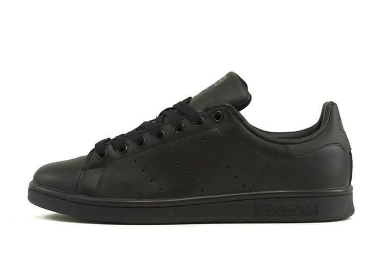 Adidas-Mens-Stan-Smith-Leather-Trainers-White-Navy-Green-Orange-and-Black thumbnail 4