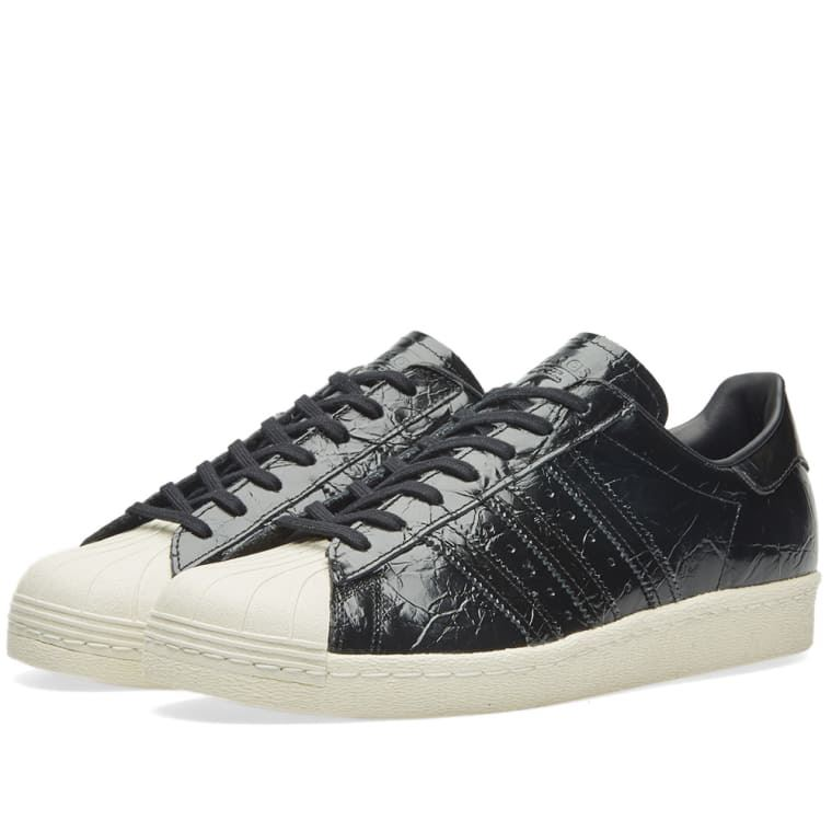 Details about Adidas Originals Womens Superstar 80s Trainers Black (BB2055)