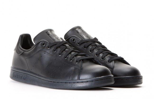 Sur Détails Originaux Stan Noirm20327 Pour Smith Hommes Adidas Baskets gybf76