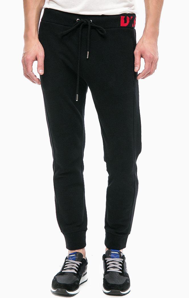 Diesel Mens P-Moons Pantaloni Tracksuit Bottoms Casual Joggers Sweat Pants Black