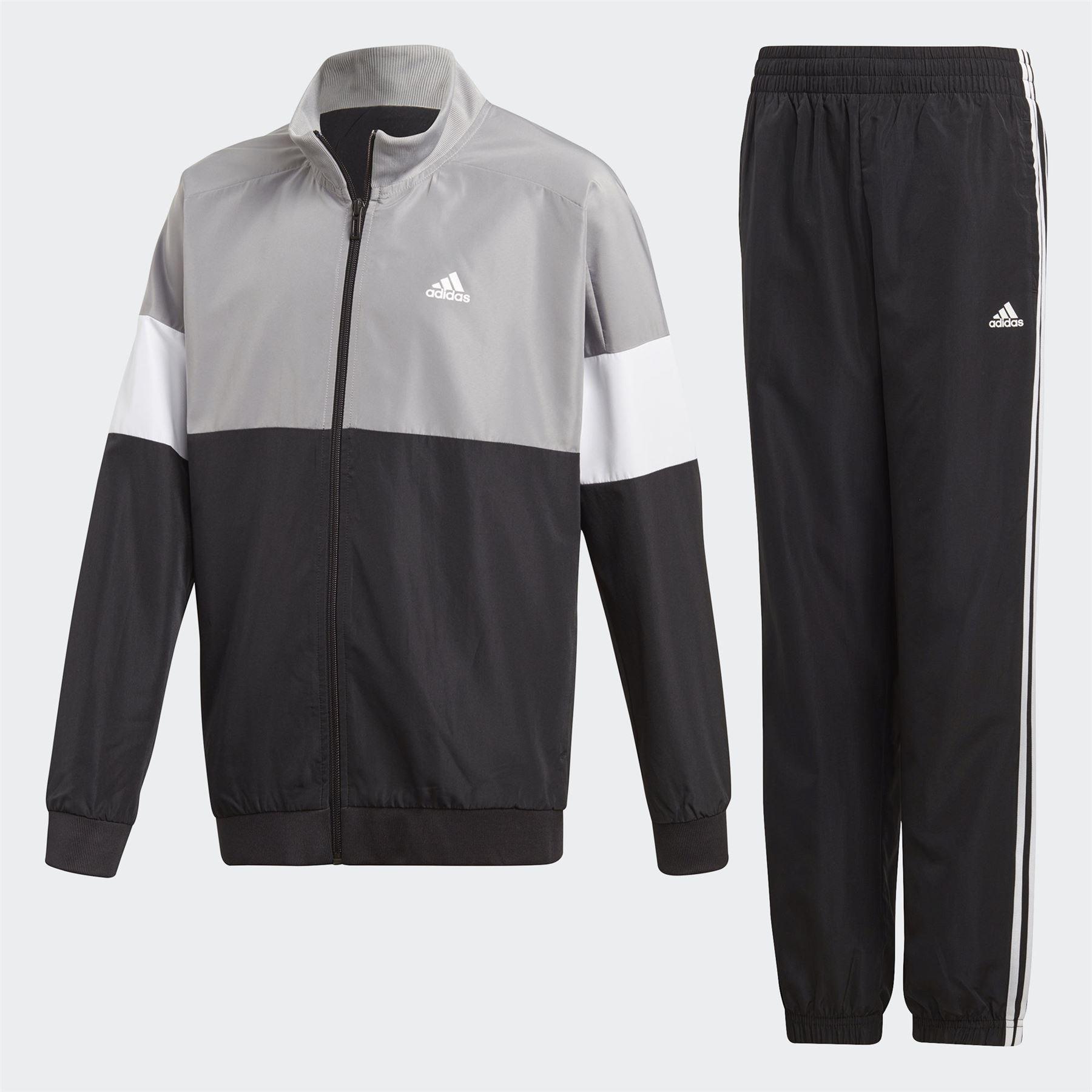 estar impresionado Sinfonía Decir a un lado  Adidas Niños Yb Chándal Cremallera Camiseta SPORTS Chaqueta Fondos Informal  Gris | eBay