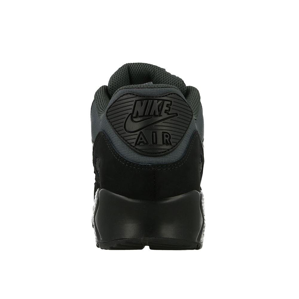 Dettagli su Nike Uomo Air Max 90 Essenziale Scarpe da Ginnastica Nere (AJ1285 009)