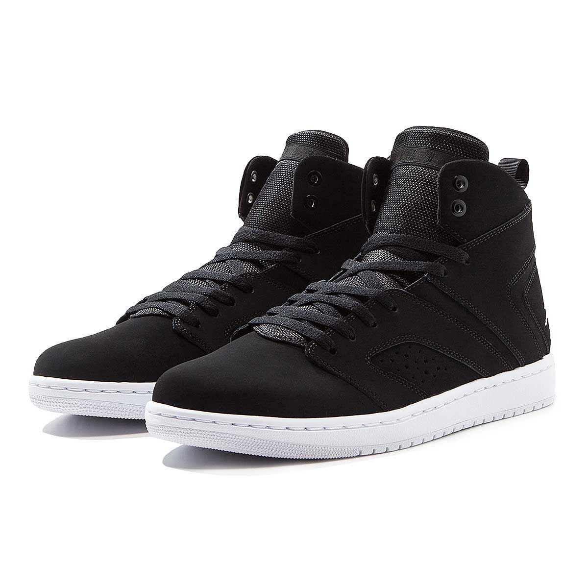 Détails sur Nike Homme Jordan Vol Basketball Chaussures Baskets Classique Noir (AA2526 010)