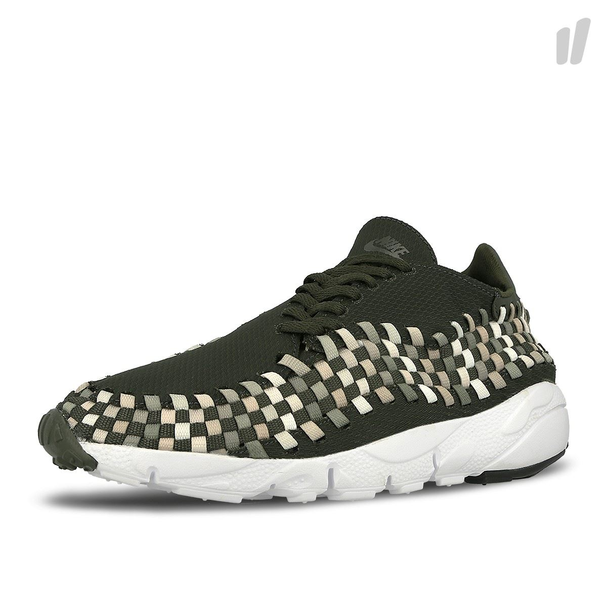 c3d1a0cc8c0 Details about Nike Mens Air Footscape Woven Trainers Green (875797-300)