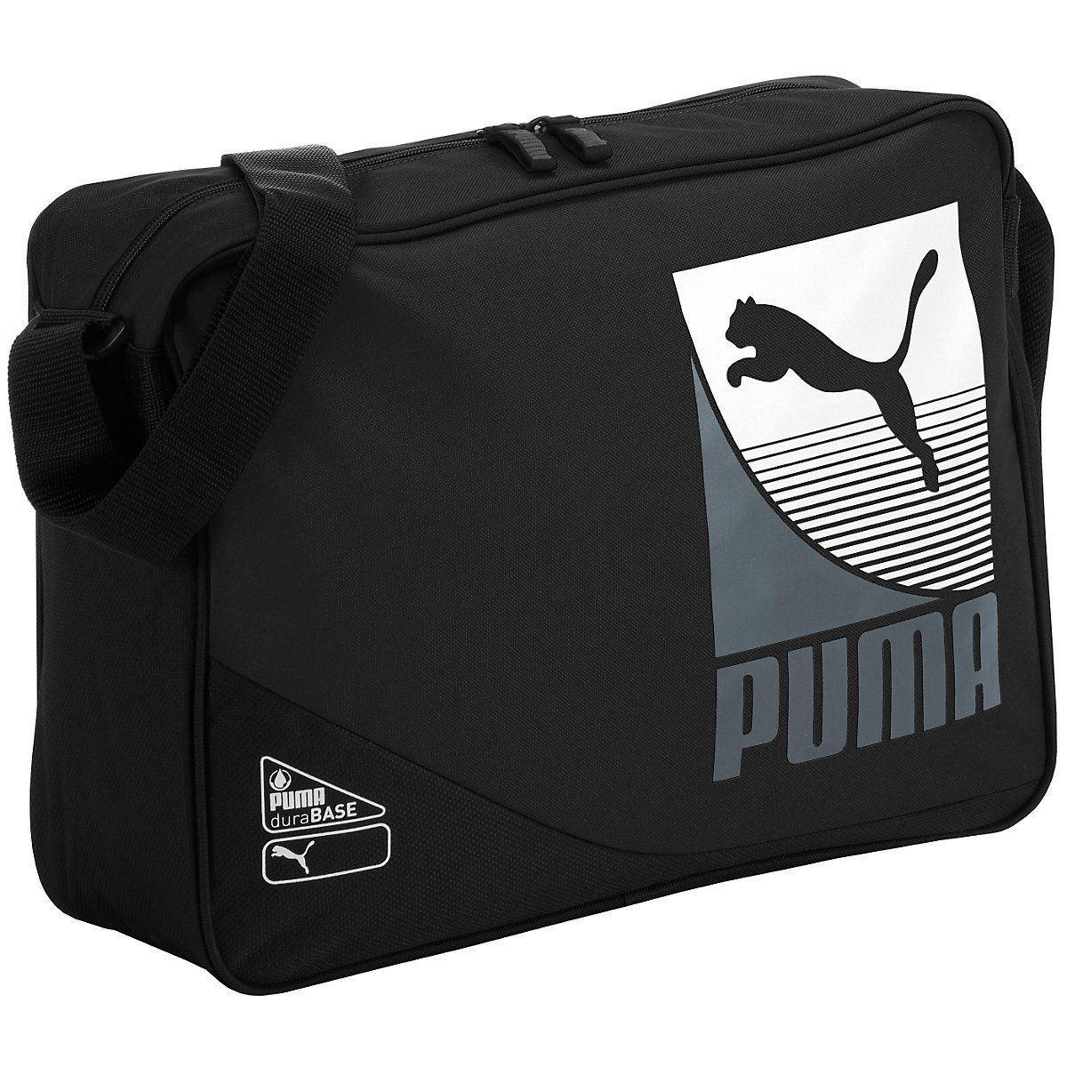 Details about Puma Unisex Puma Echo Shoulder Bag Black (7151401) cd82d168fac48