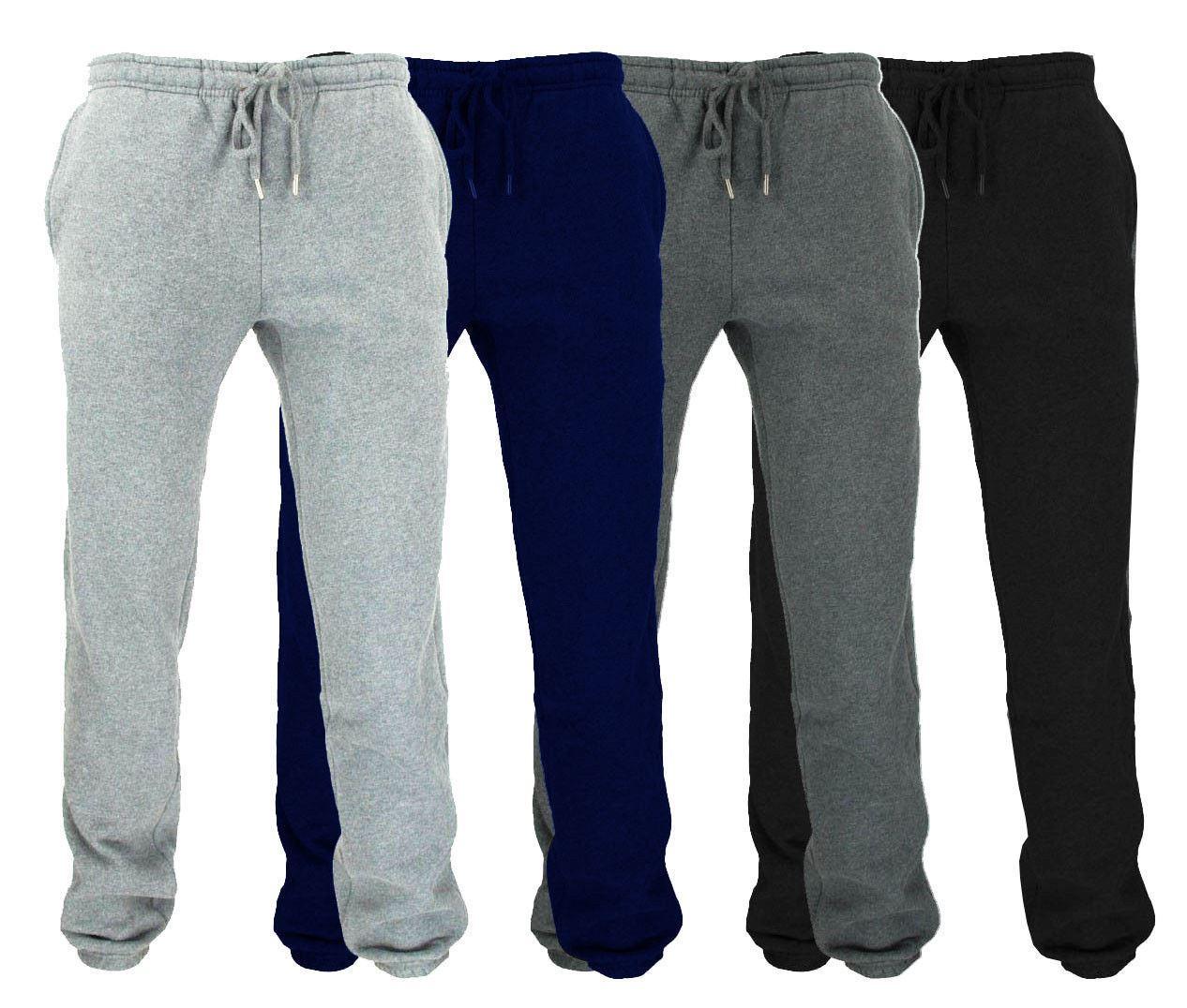 Uomo Pantaloni Tuta seta jogging palestra pantaloni