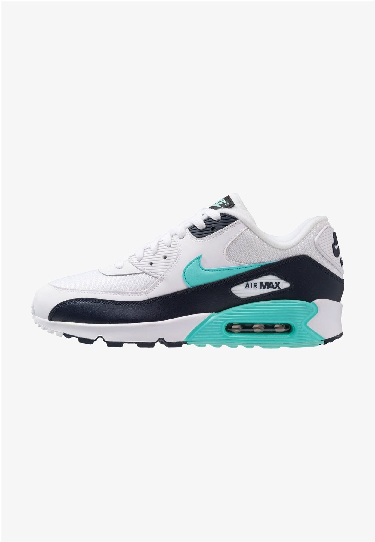 brand new c5a7a 09d7b Details about NIKE Mens Nike Air Max 90 Essential Trainers White  (AJ1285-102)