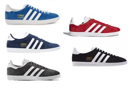 adidas gazelle bleu marine rouge