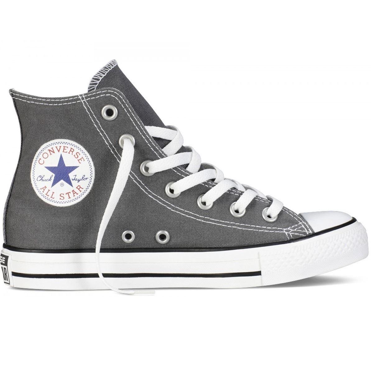 grey and black converse high tops \u003e Up