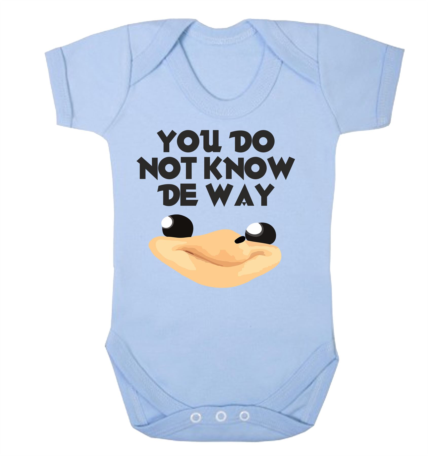 /'Move out of the way Barbie/' Cute funny slogan babygrow baby vest