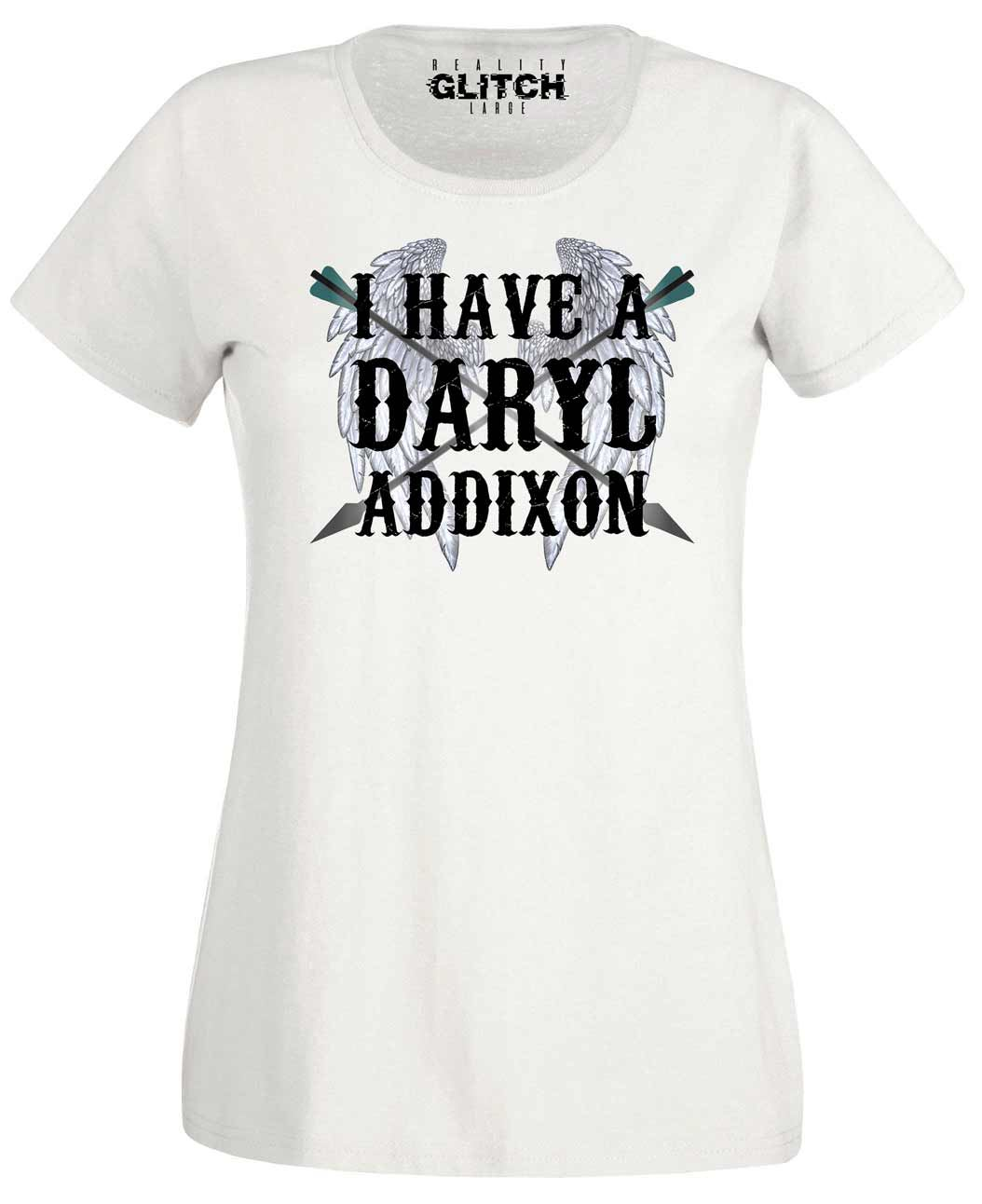 IT/'S MRS DARYL DIXON TO YOU t-shirt womens fitted short sleeve