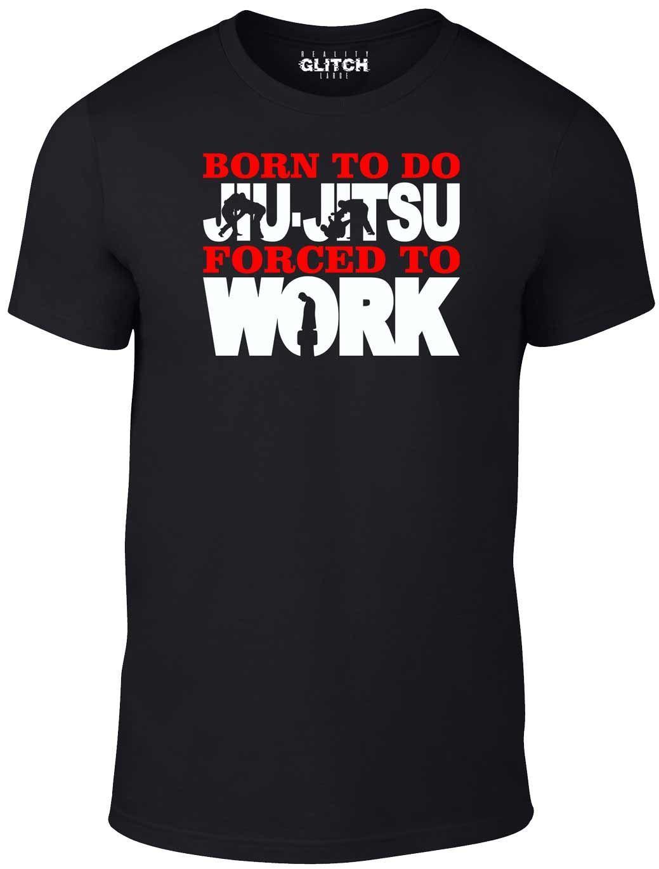 Reality Glitch Reality Glitch Men/'s Born to Ride Forced to Work T-shirt MX