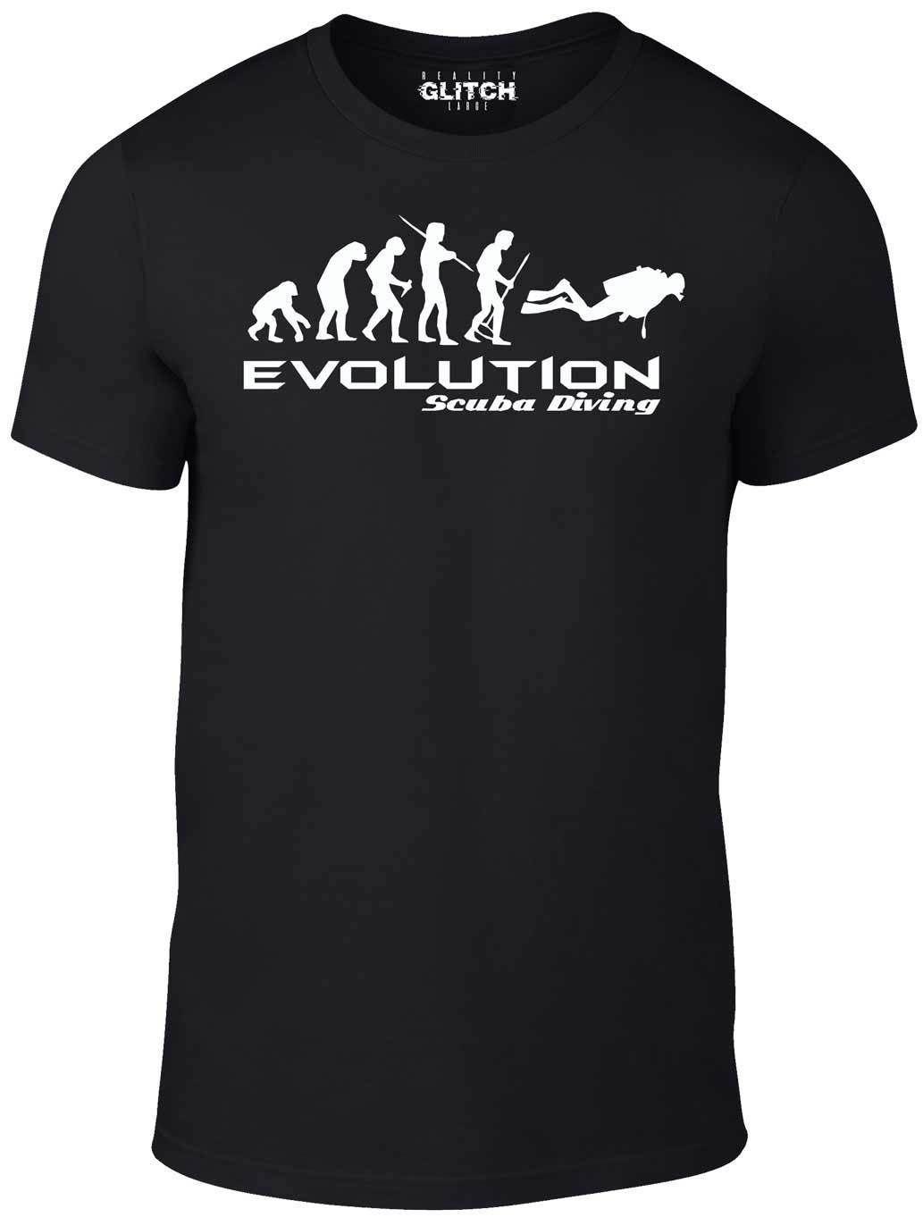 I Love Scuba Diving Cool Scuba Diving Mens t-Shirt Black