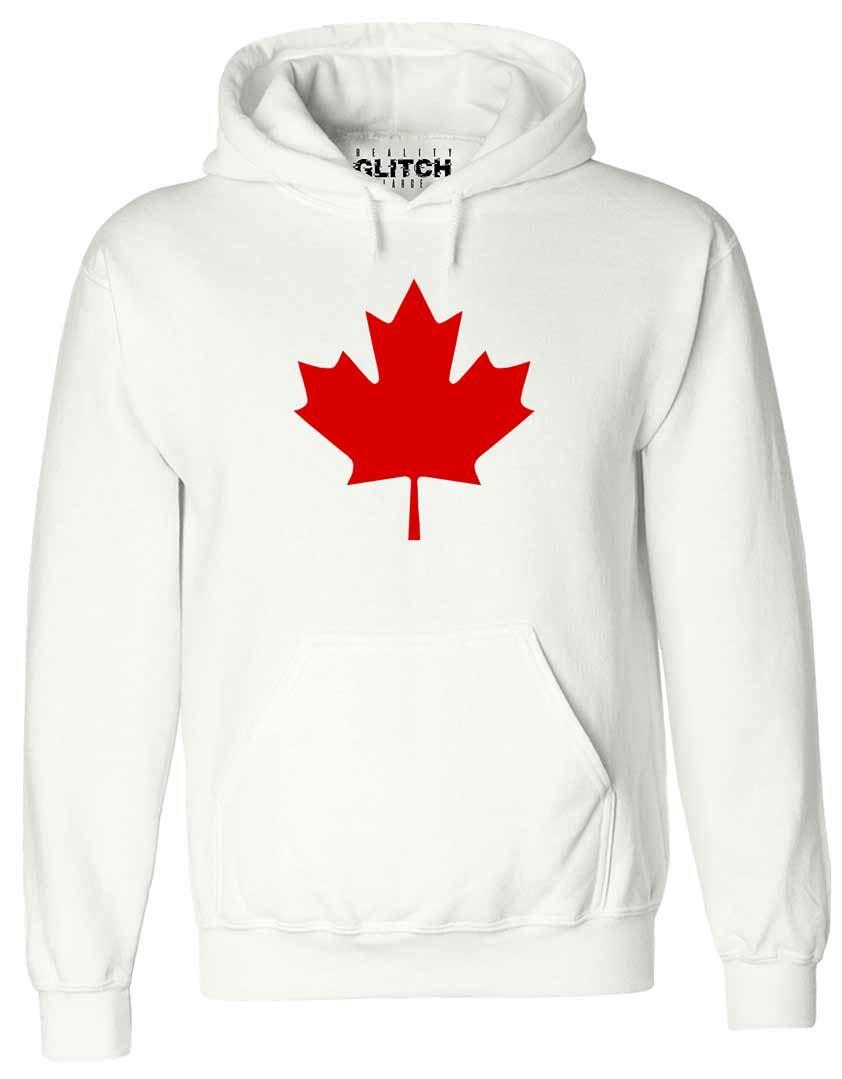 Canada Maple Leaf Hoodie Sweatshirt