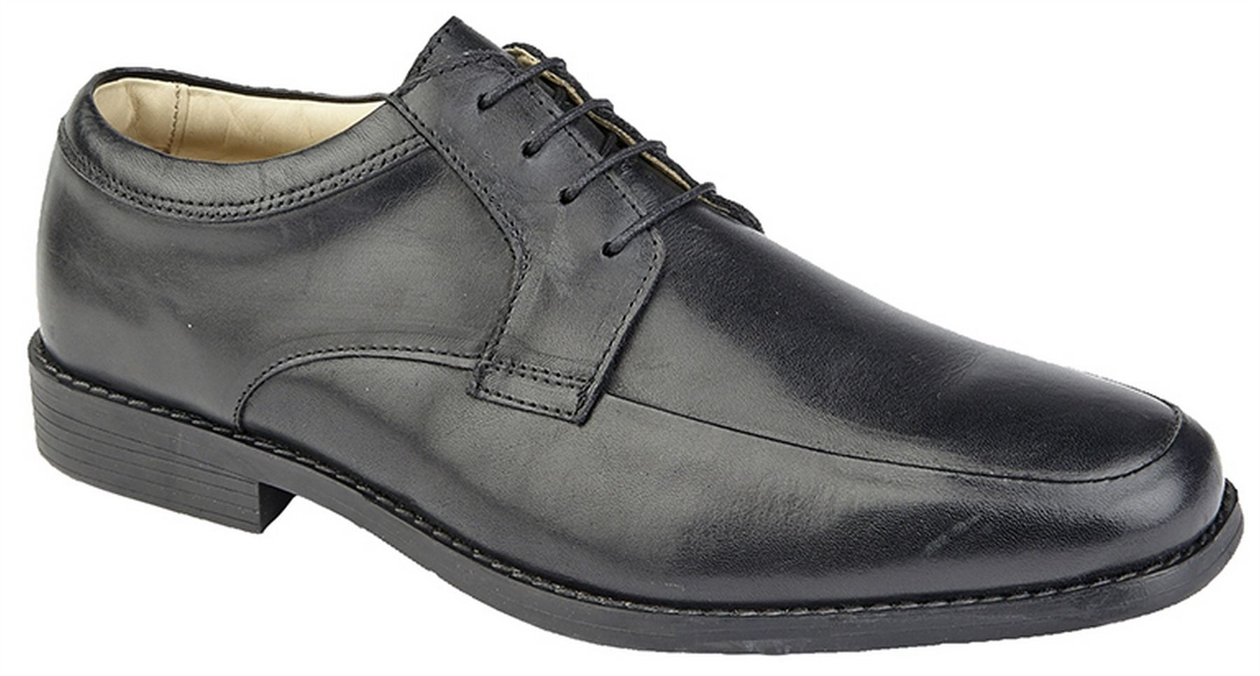 Mens Formal Shoes Leather Lace Up Smart Wedding Dress Derby Gibson Size
