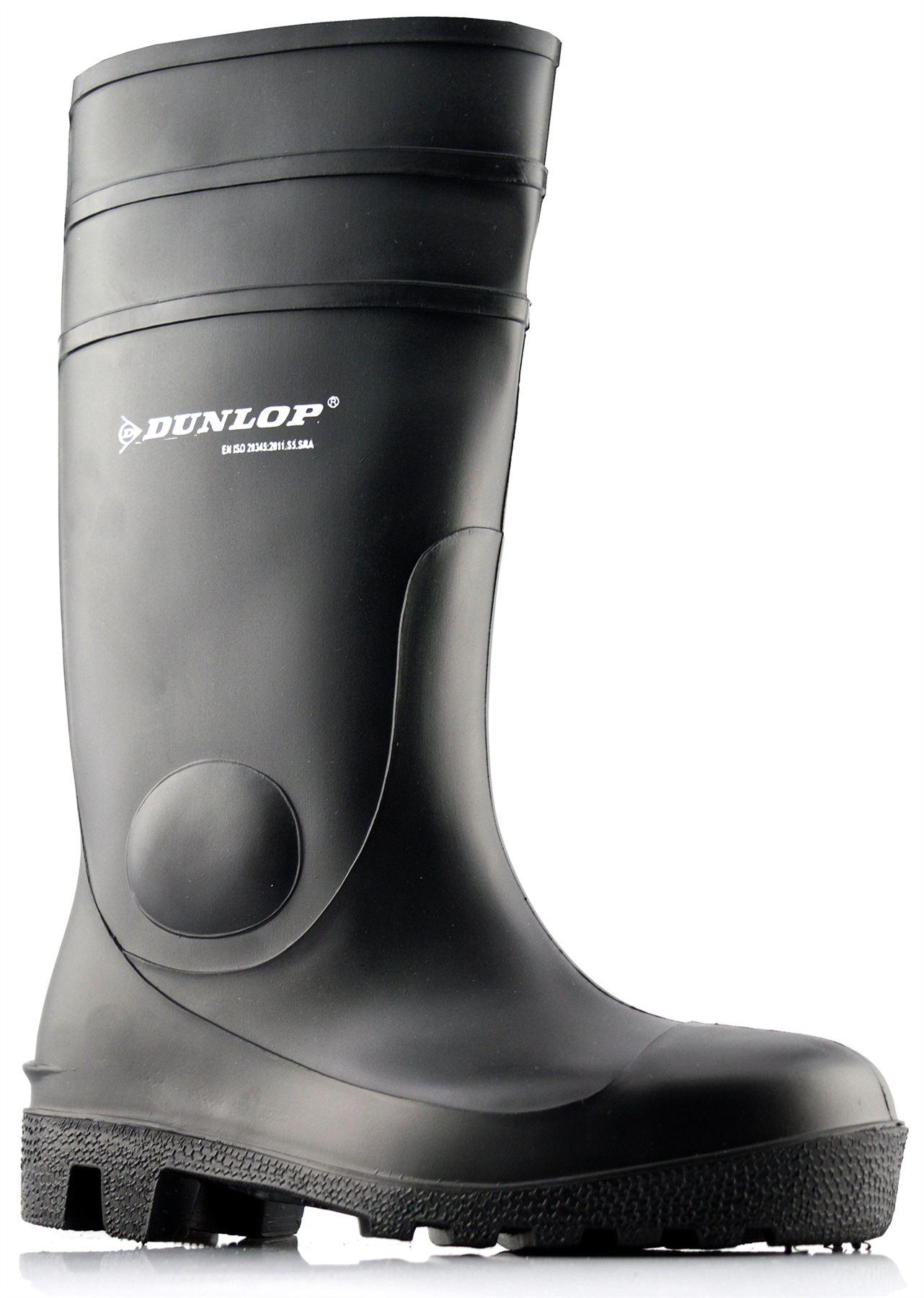 Dettagli su Da Uomo Donna Da Donna Stivali Di Gomma Lavoro Stivali Dunlop Sicurezza COMPLETO TG UK mostra il titolo originale