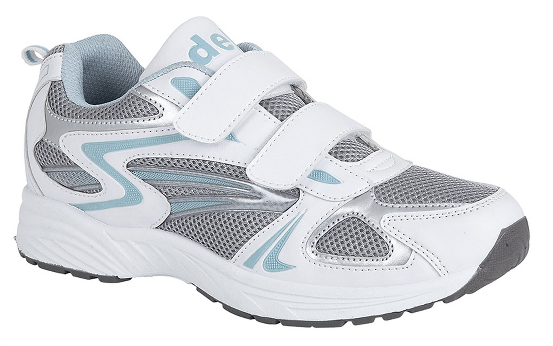 Ladies Womens Gym Running Jogger Athletics Sports Velcro Trainers ... 2e26ba22a