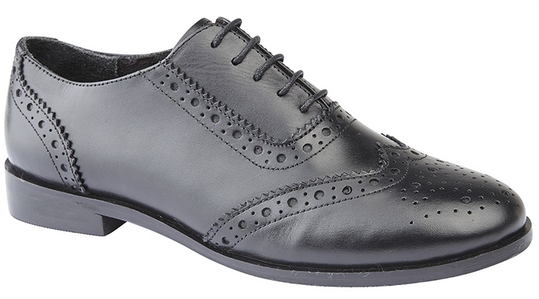 Ladies Womens Formal Shoes Leather