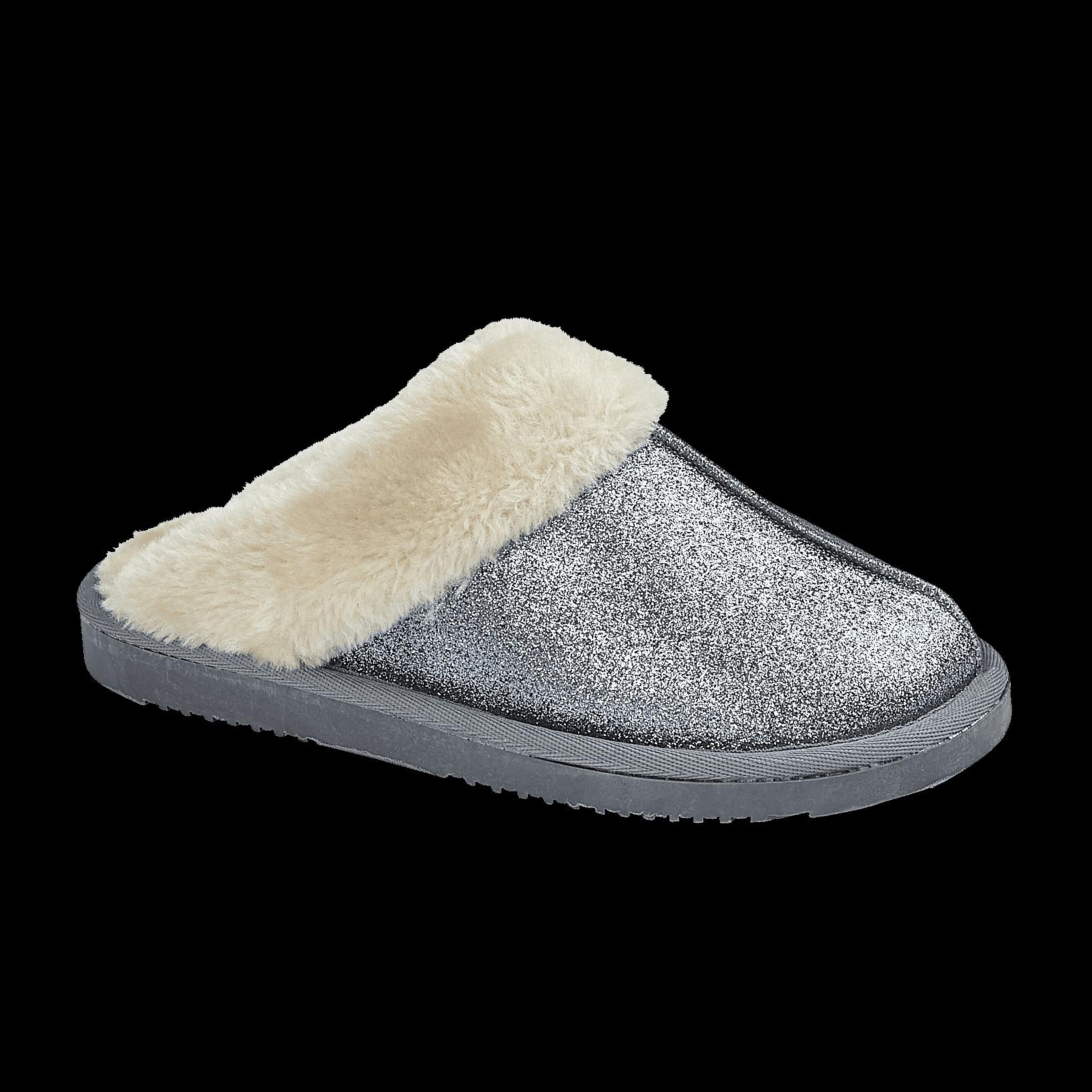 miniatuur 23 - Jo & Joe Womens Luxury Slippers Winter Warm Fur Slip On Flat Mule Bootie Girls