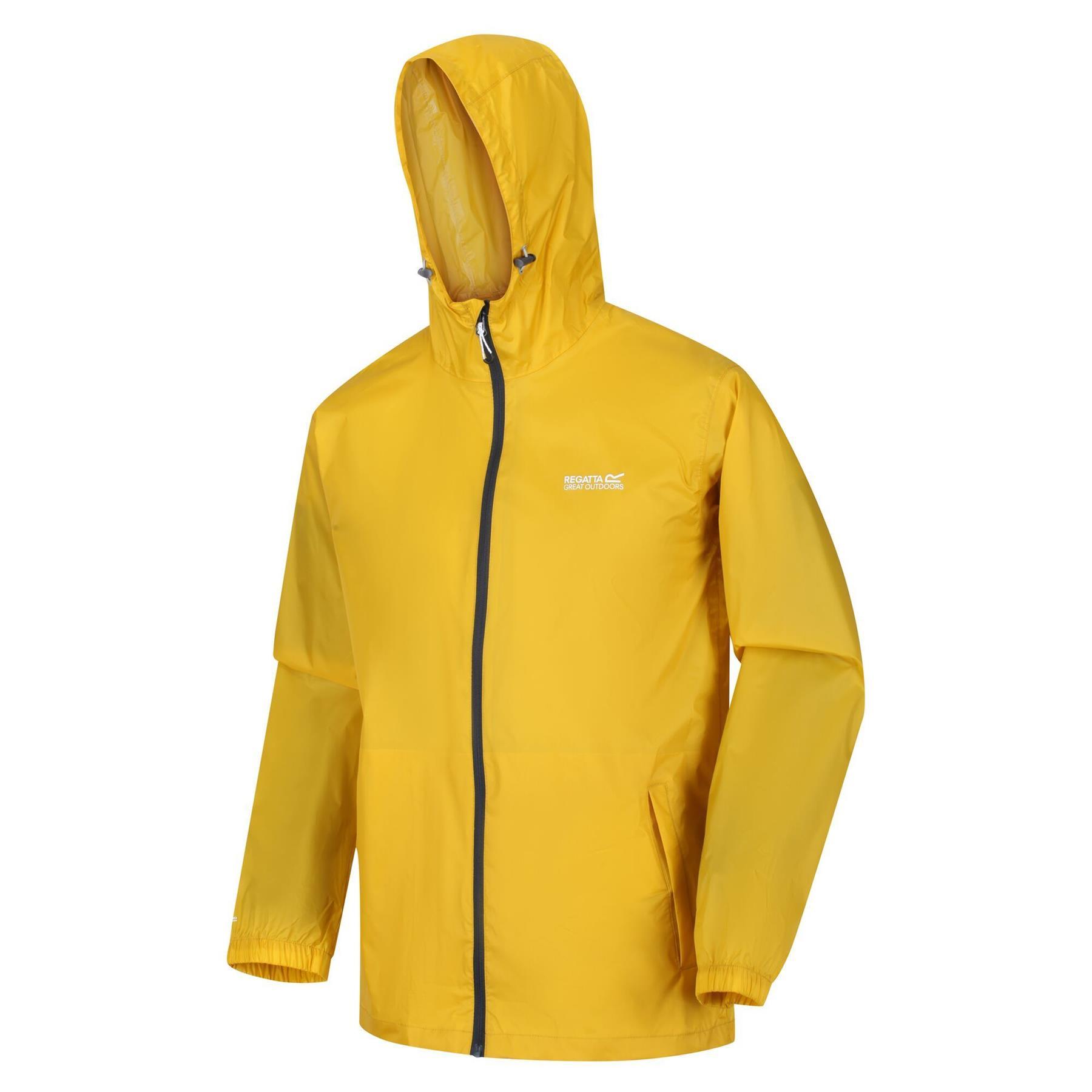 miniatuur 24 - Regatta Mens Pack-it In a bag Packable Waterproof Jacket Outdoor Pack a mac